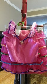 Dora costume in Fort Campbell, Kentucky