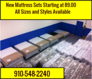 New Mattress Sets,still in plastic,First come ,First Serve!! in Cherry Point, North Carolina
