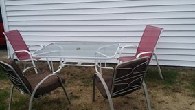 patio table with chairs in Batavia, Illinois