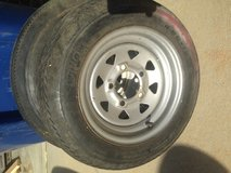 Trailer Tire and rim 5.30-12 in Clarksville, Tennessee
