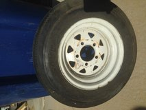 Trailer Tire and rim 4.80-12 in Fort Campbell, Kentucky