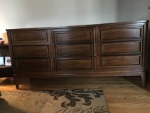 9 DRAWER DRESSER/CHEST BY DIXIE FURNITURE -SOLID WOOD/QUALITY MADE/DOVE TAIL DRAWERS -EUC in Naperville, Illinois