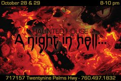 """A Night In Hell..."" Haunted House in 29 Palms, California"