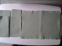 4 Green Woven Placemats w/Napkins (set of 4) in Eglin AFB, Florida