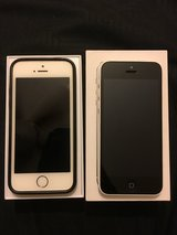 2 AT&T IPHONES: IPHONE 5S (GOLD) AND IPHONE 5C (WHITE) in Fairfield, California