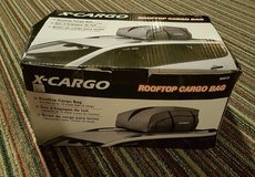 X-CARGO rooftop cargo bag 13 Cubic foot weather resistant collapsible NEW in Aurora, Illinois
