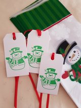 SALE  Christmas Treat Bags With Tags Handmade 20 Available in Ramstein, Germany
