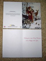 Woodland Santa Cards in Tomball, Texas