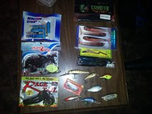 fishing lures and soft plastics in Duncan, Oklahoma