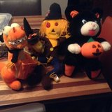 Stuffed HALLOWEEN Animals 4 in Yorkville, Illinois