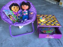 Dora chair, games, doll, book and more! in Camp Lejeune, North Carolina