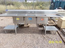 Commercial Stainless Steel Sink Large Size in Alamogordo, New Mexico