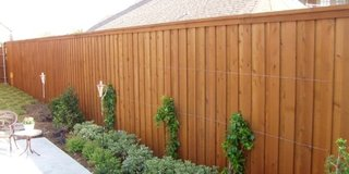 Wood Fence Installment in Houston, Texas