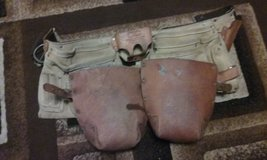 contractors leather belt and leather knee pads in Byron, Georgia