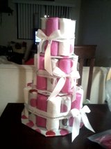 Diaper cakes for baby shower events in Oceanside, California