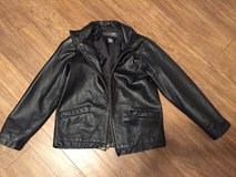 Boys 10/12 genuine leather jacket coat in Camp Lejeune, North Carolina
