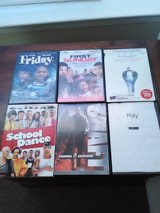 6 movie lot 3 comedy and to life story movies in Beaufort, South Carolina