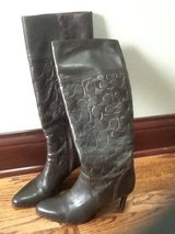 Women's Coach boots in Glendale Heights, Illinois