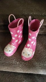 Polka Dot Hello Kitty Rain / Snow Boots in Clarksville, Tennessee