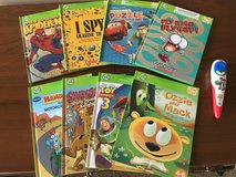 Leap Frog TAG Reading System - Electronic Reader PLUS 8 TAG Books in Houston, Texas