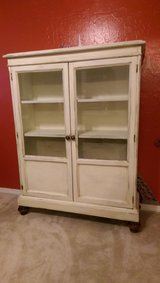 American Martinsville/Distressed book/curio/hutch cabinet in Lawton, Oklahoma