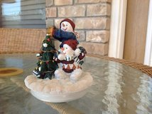 Christmas candle topper in Alamogordo, New Mexico