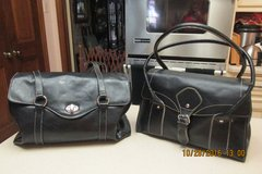2 Roomy Black Purses--Great Condition -- $3.00 & $5.00 in Kingwood, Texas