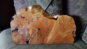 Beautiful Wood Clock in Fort Lewis, Washington