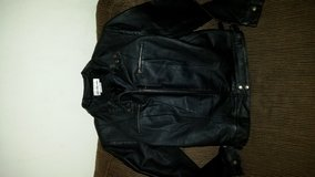 Leather jacket child size 10 in Oceanside, California