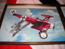 Vintage 1960's/70s Red Baron Paintings in Camp Lejeune, North Carolina
