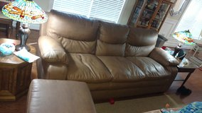 Ashley furniture Durablend couch/loveseat/ottoman in Beaufort, South Carolina
