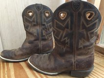 Boys ARIAT Leather boots 4.5 in Baytown, Texas
