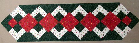 Christmas Table Runner Top in Warner Robins, Georgia