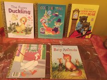 Little Golden Books series 5 books with animals in Morris, Illinois