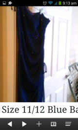 Beautiful size 11/12 Ball Gown or Prom Dress in Beaufort, South Carolina