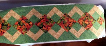 Fall Patchwork Table Runner Top in Byron, Georgia