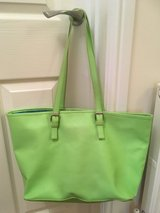 LARGE LIME GREEN TOTE, PURSE, BAG in Lakenheath, UK
