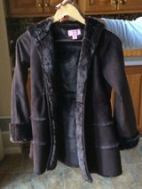 Copper Key Girls Hooded Coat with Faux fur Lining and Trim in Fort Belvoir, Virginia