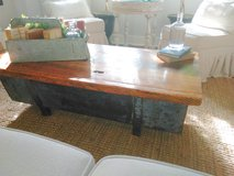 Industrial Rustic coffee table in Aurora, Illinois