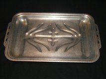 Vintage Hammered Aluminum Sizzle Maid 4 Man Broiler Tray in Chicago, Illinois