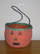 big wicker pumpkin basket in Glendale Heights, Illinois