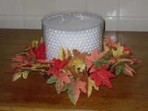 "fall candle ring for 6""W candle in Glendale Heights, Illinois"