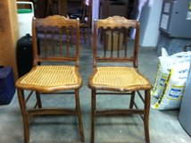 Cane Chairs (antique) in Alamogordo, New Mexico
