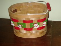 Xmas basket w/handle in Glendale Heights, Illinois