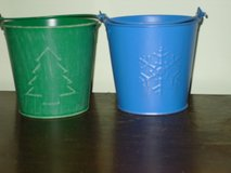 2 sm. metal buckets in Glendale Heights, Illinois