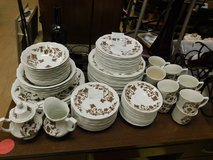 89 pc Royal Staffordshire Windsong Ironstone by J & G Meakin England in Westmont, Illinois