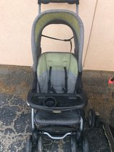 Stroller  toddler set and stand could use a cleaning in 29 Palms, California