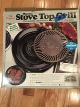 Stove Top Grill - The Original Burton Never used in Naperville, Illinois