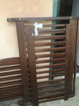 Crib toddlers bed nice mattress has Scratches in 29 Palms, California