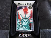NIB Zippo Lighter, Statue of Liberty Retails for 23.95 in Beaufort, South Carolina